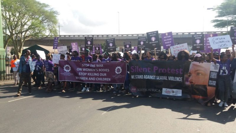 Protest against sexual violence (4)